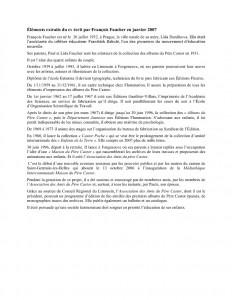 thumbnail of Extraits Cv fait par François Faucher 2-11