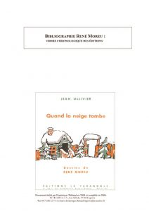 thumbnail of Bibliographie René Moreu