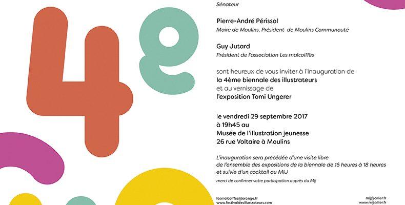 Biennale des illustrateurs àMoulins