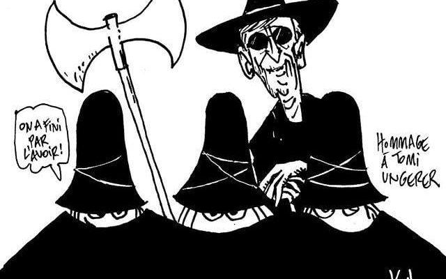 Hommage en dessins à Tomi Ungerer