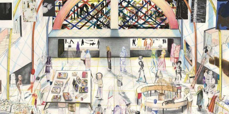 Yann Kebbi à la galerie Martel