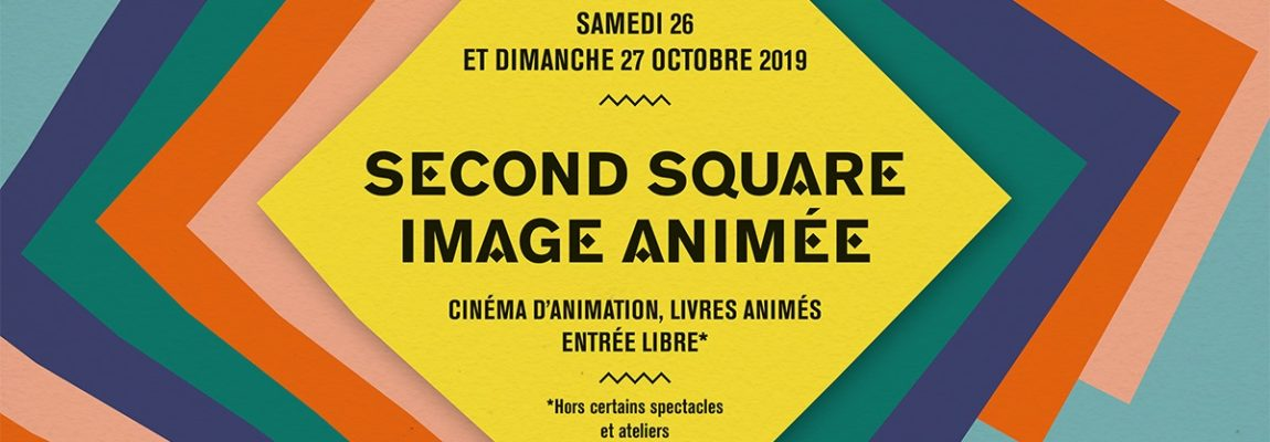 Second square+Salon du livre animé