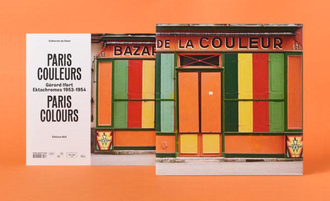 livre : Paris couleurs